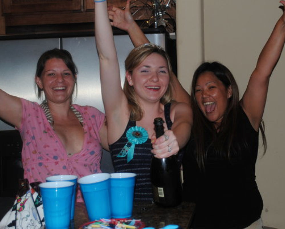Andrade (far left) and two other female leaders of the Coulter sex trafficking ring.