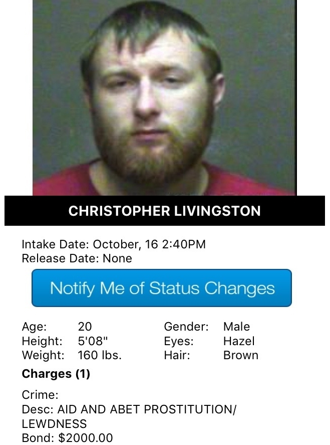 Christopher Livingston Mugshot Pimp 2016-10-16.jpg