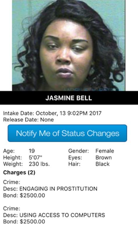 Bell Jasmine Mugshot Prostitute 2017-10-13.jpg