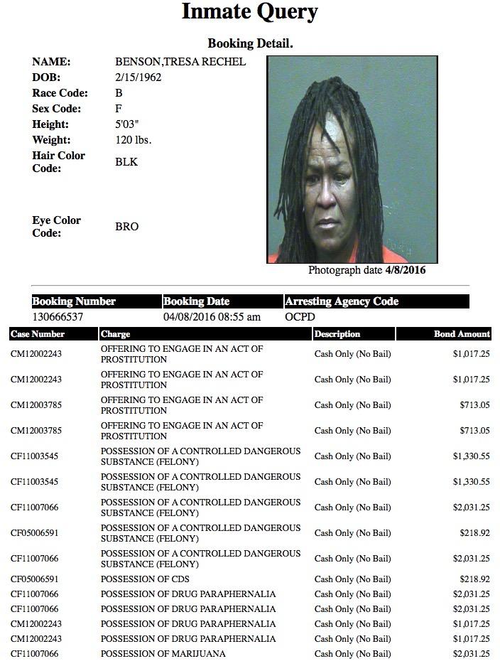 Benson Trsaa Rechel Mugshot Prostitute 2016-04-08.jpg