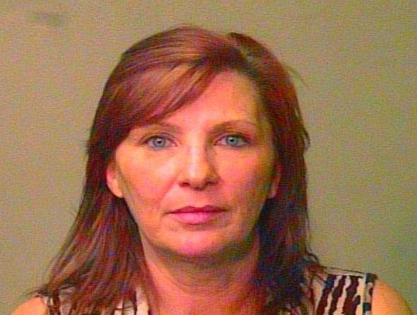 Penny Ann Melton/Rutter/Bates madam prostitution arrest mugshot.