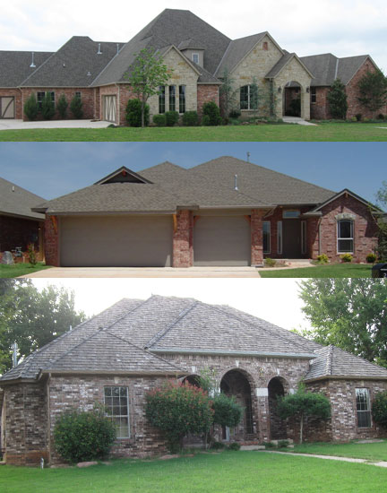 Former residences of OKC/Edmond pimp Germaine Coulter.