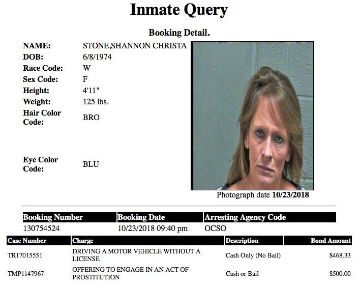 Stone Shannon Christa Mugshot Prostitute 2018-10-23.jpg
