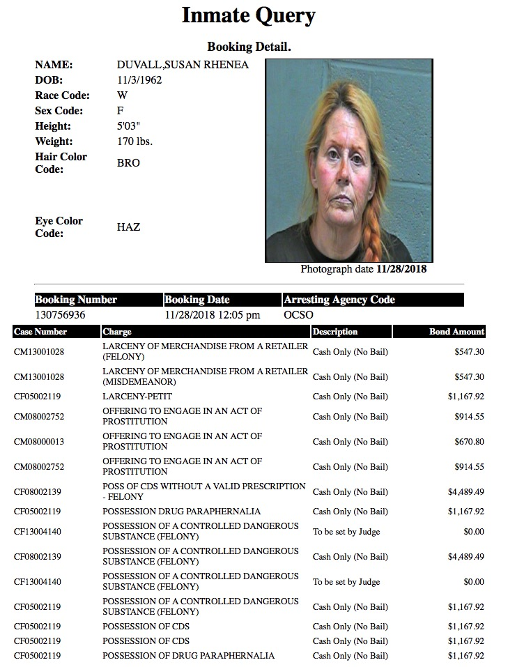 Duvall Susan Rhenea Mugshot Prostitute 2018-11-28.jpg