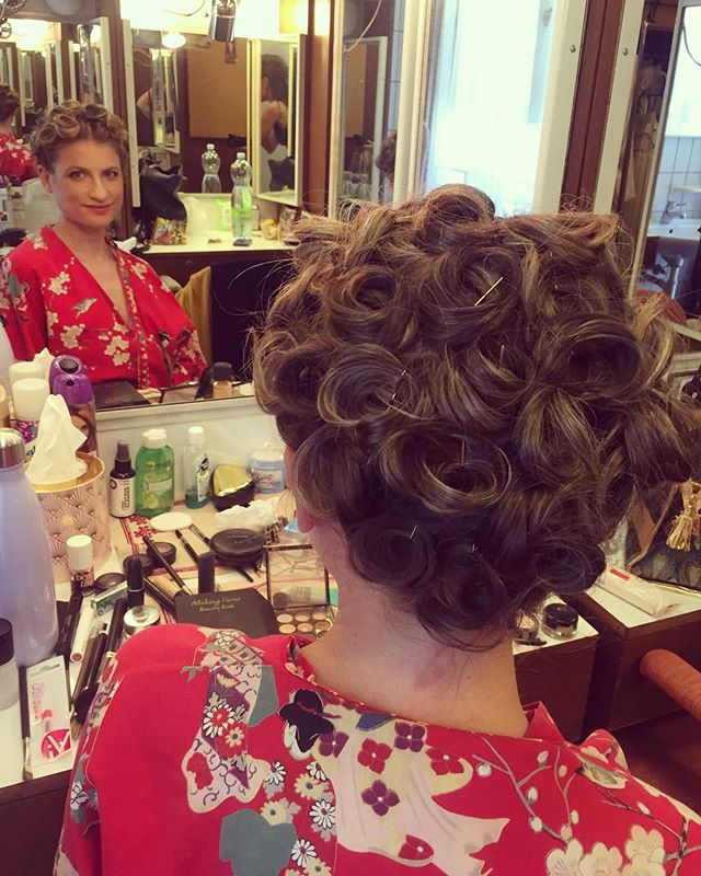 Cressida by Crystal. #hairexpert #pincurls