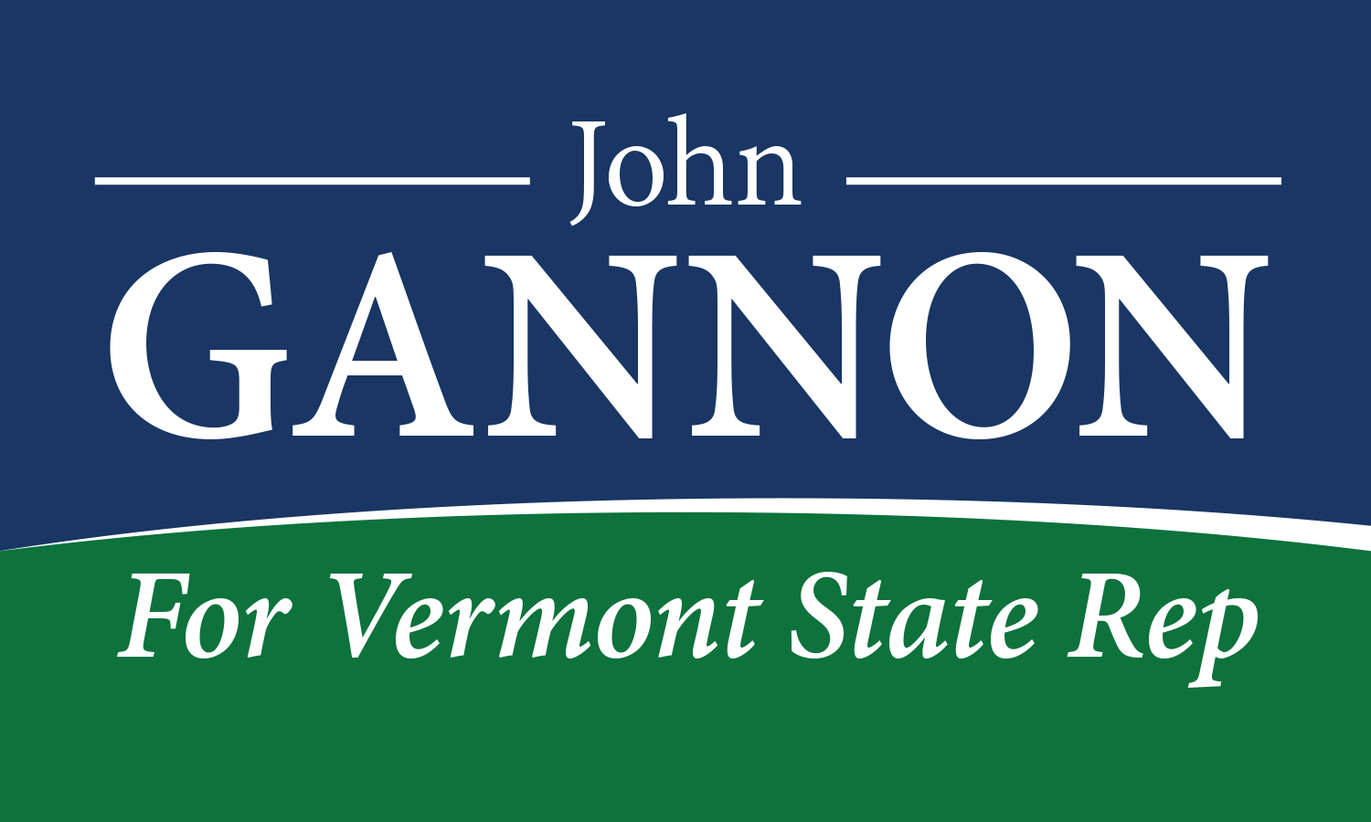 John Gannon for Vermont House