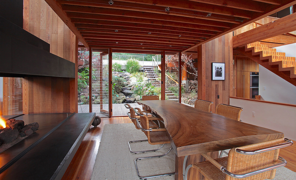 katzenstein house. rustic canyon, los angeles. ray kappe, architect.