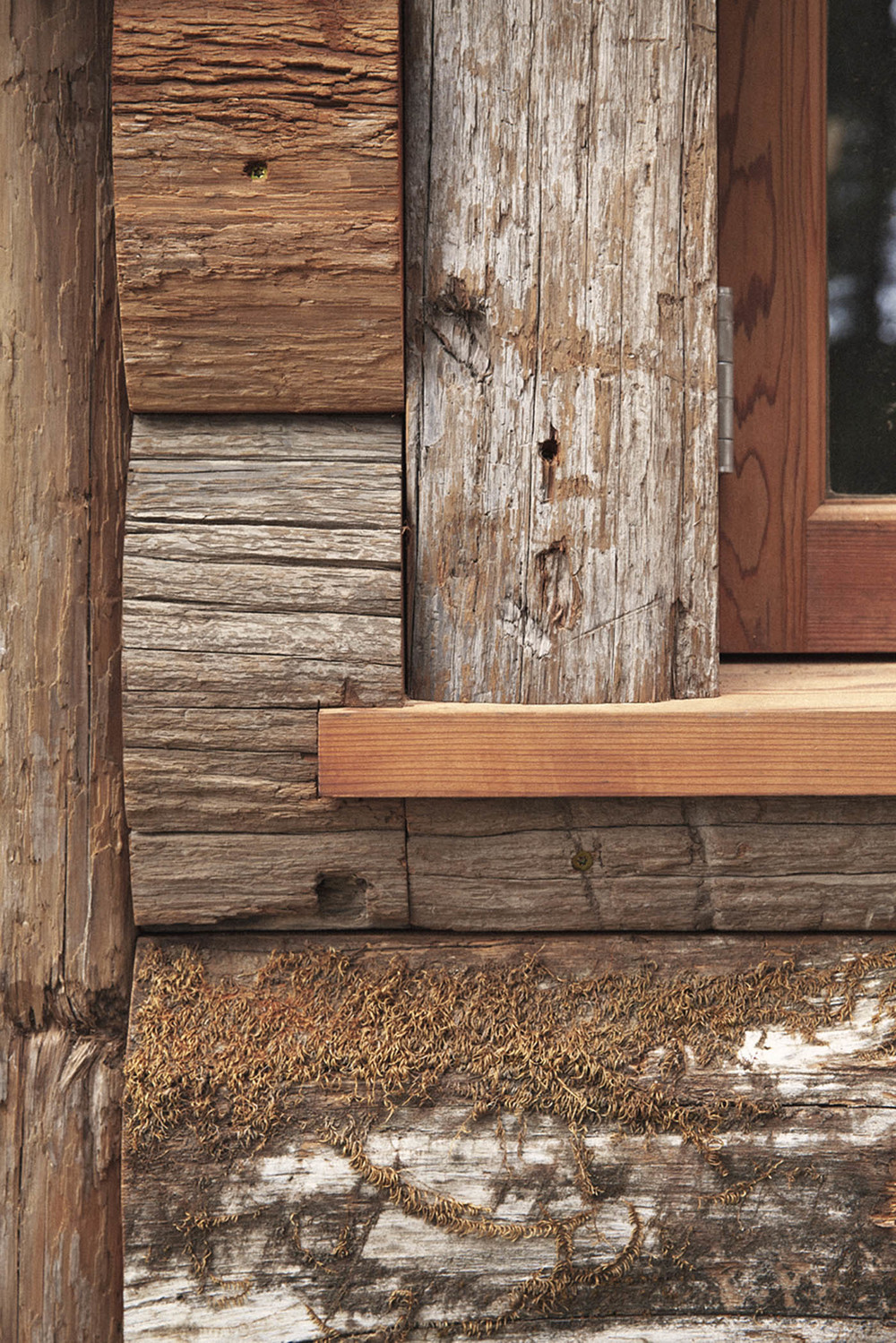 howard and cecil waite cabin restoration. inverness ridge, ca