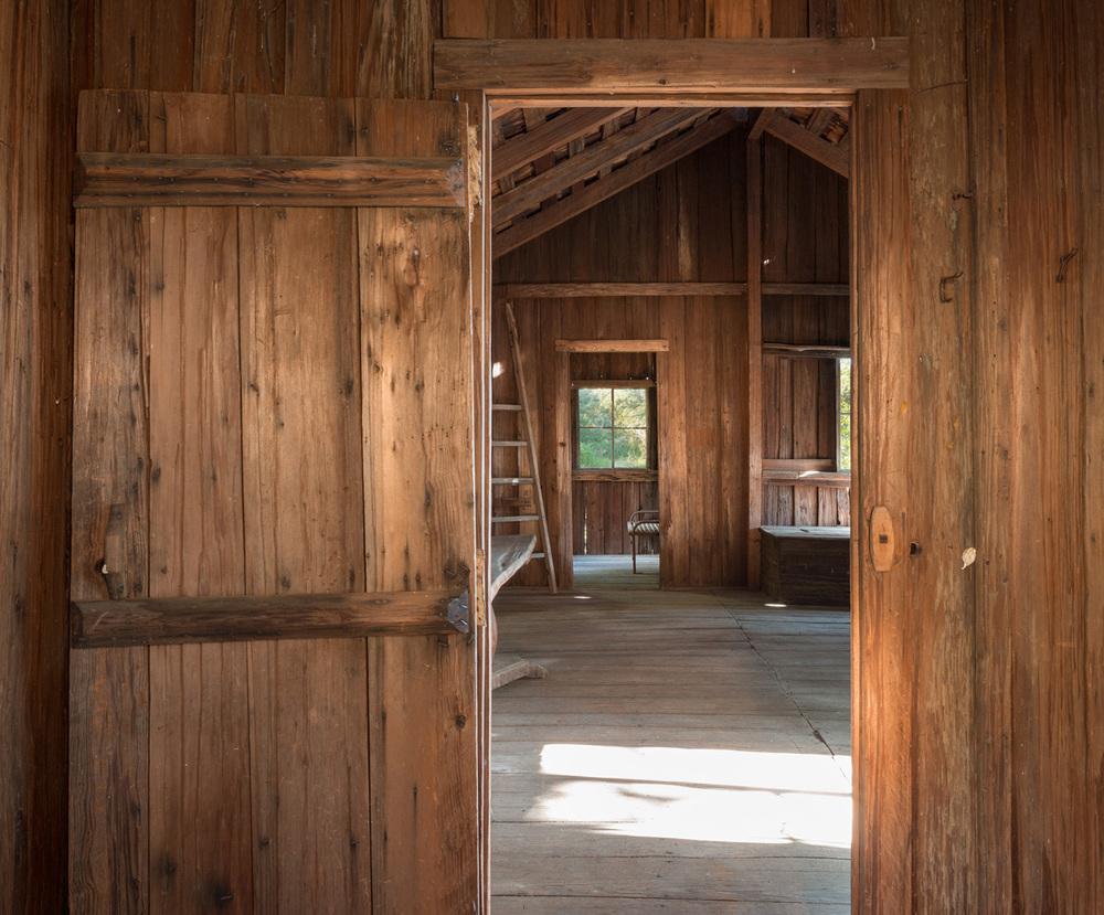 1917 redwood cabin. big sur, ca. sam trotter, designer-builder.