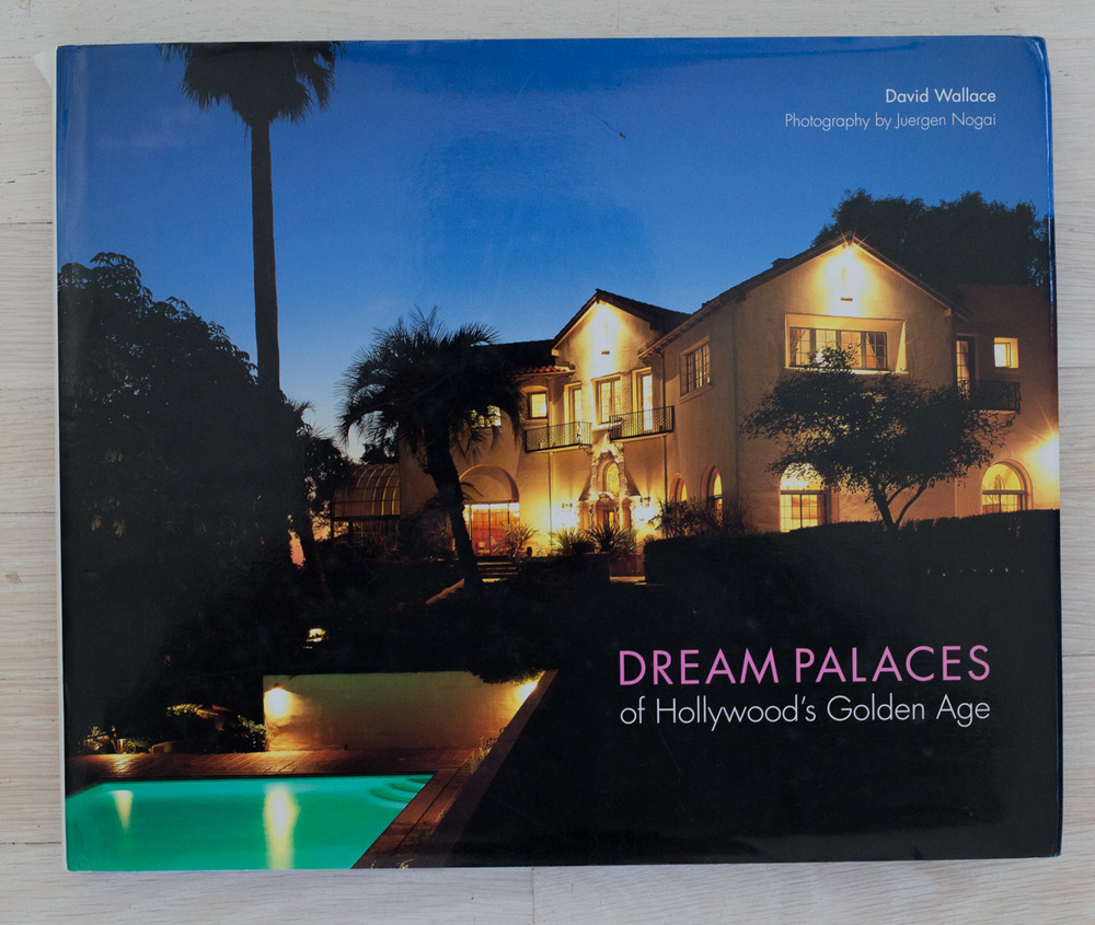 Dream Palaces of Hollywood's Golden Age  by David Wallace. Edited by Richard Olsen. Binocular, New York, Graphic Designer. Jane Searle, Production Manager. Harry N. Abrams, Inc., Publishers.