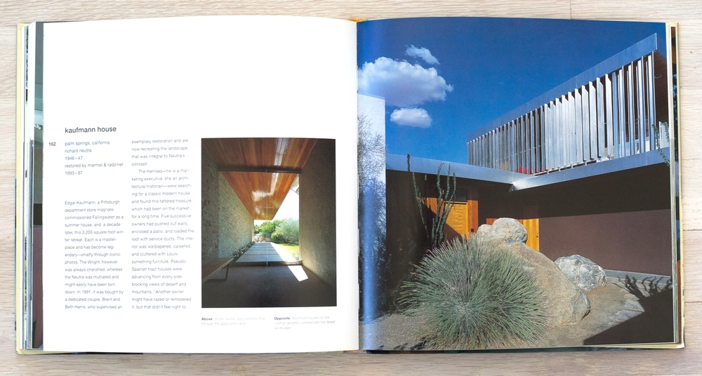 Modernism Reborn  by Michael Webb and Roger Straus III. Editorial Concept Development and Acquisition by Richard Olsen. Binocular, Graphic Designer. Michael Vagnetti, Production Manager. Universe Publishing.