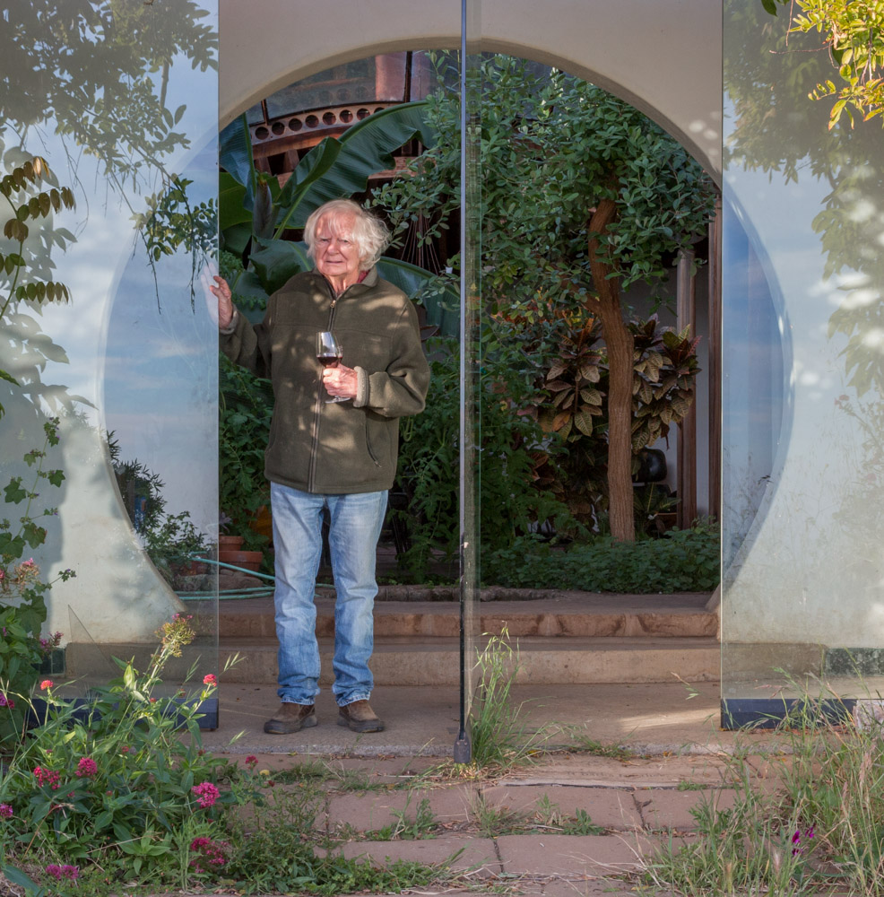 architect mickey muennig at home. big sur, ca