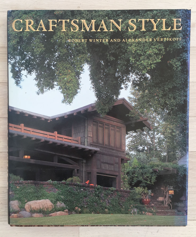 Craftsman Style  by Robert Winter; Photography by Alexander Vertikoff. Concept by Richard Olsen and Diane Maddex. Robert L. Wiser, Graphic Designer. Produced by Archetype Press. Harry N. Abrams, Inc., Publisher.