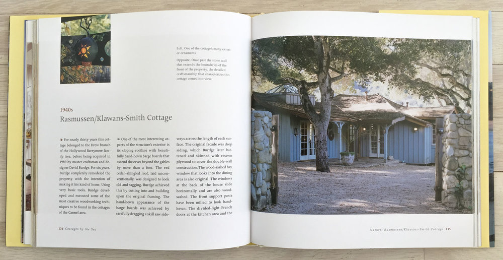 Cottages by the Sea  by Linda Leigh Paul and Radek Kurzaj. Concept, Acquisition, and Editing by Richard Olsen. Binocular, Graphic Design. Universe Publishing.