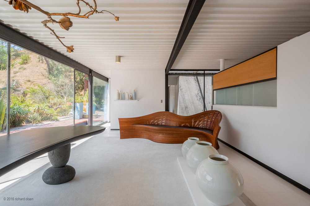 case study house 21. hollywood hills, los angeles. pierre koenig, architect.