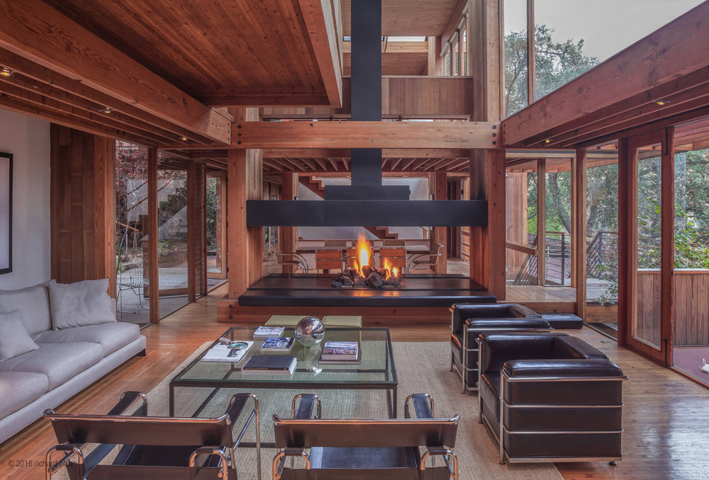 katzenstein house. rustic canyon, los angeles. ray kappe, architect.