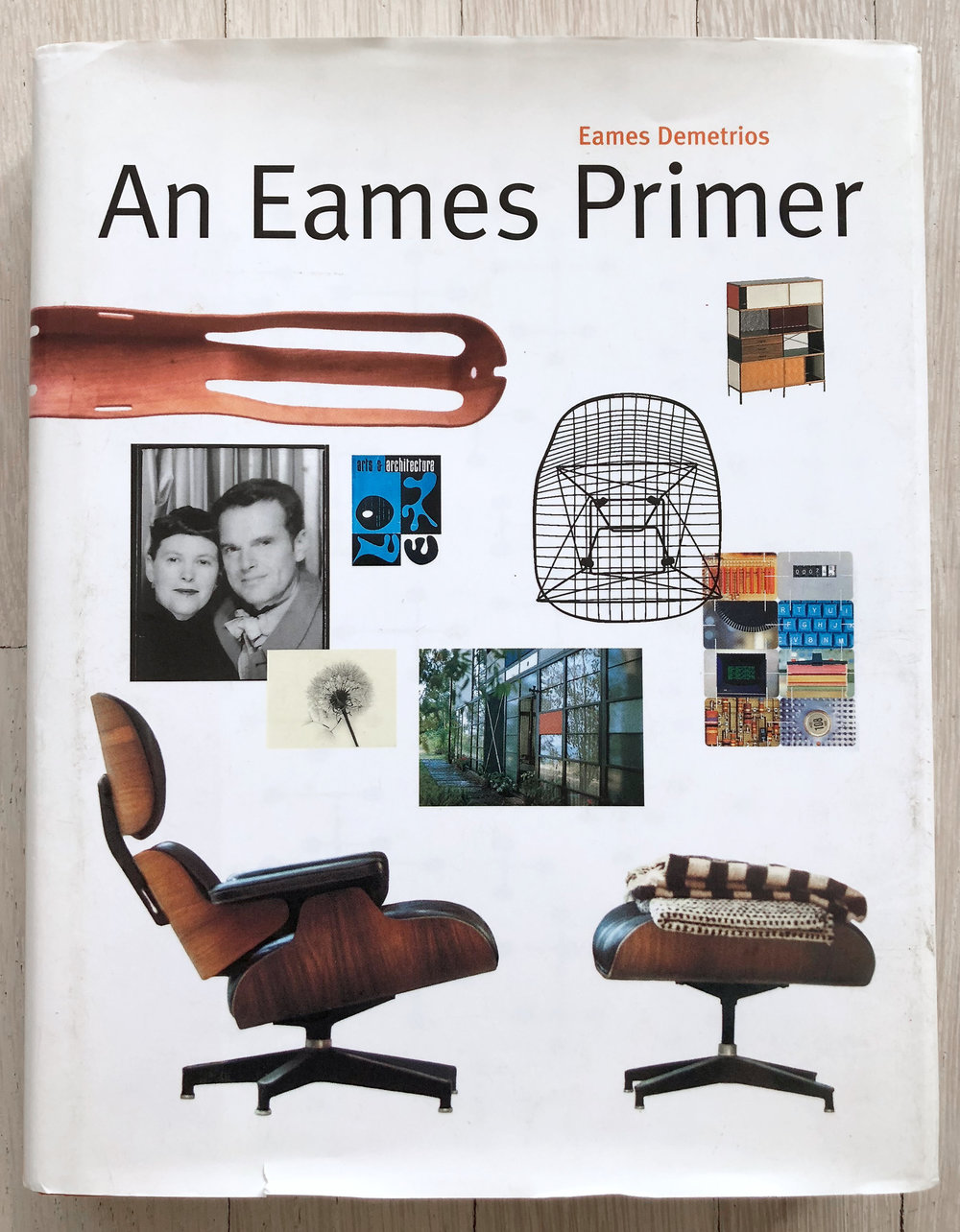 An Eames Primer  by Eames Demetrios. Editorial Concept Development by Richard Olsen. Ph.D, Graphic Design. Belinda Hellinger, Production Manager. Universe Publishing.