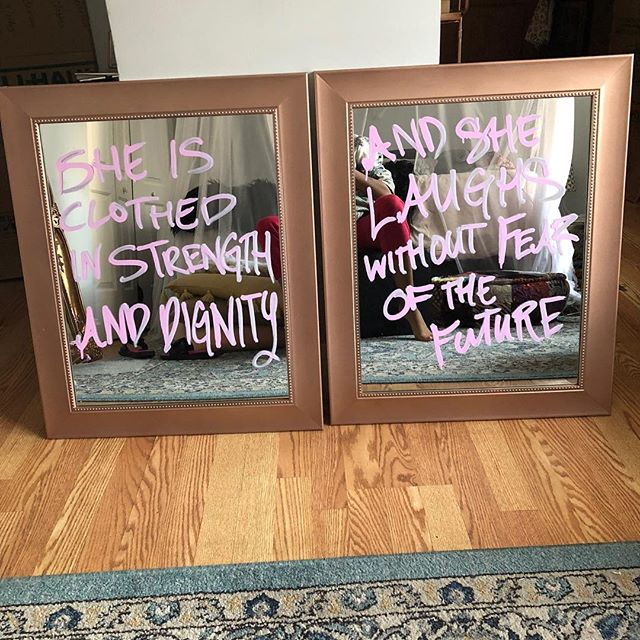 This was a fun order. 😍  #scriptureoftheday #mirrordecor