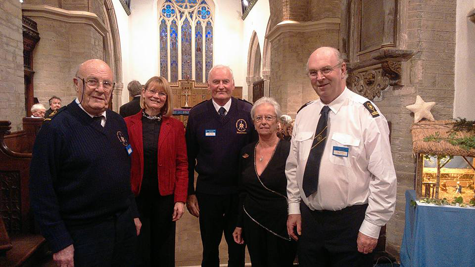 Carols for All collected £800 for COASTWATCH