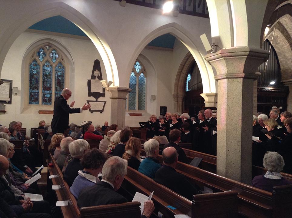Christopher Conducting Elijah