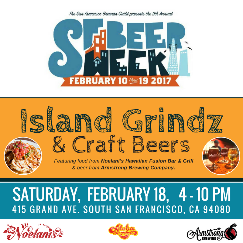 SF Beer Week Noelani's Bar & Grill and Armstrong Brewery