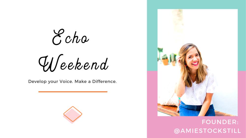 Amie Stockstill Founder of Echo