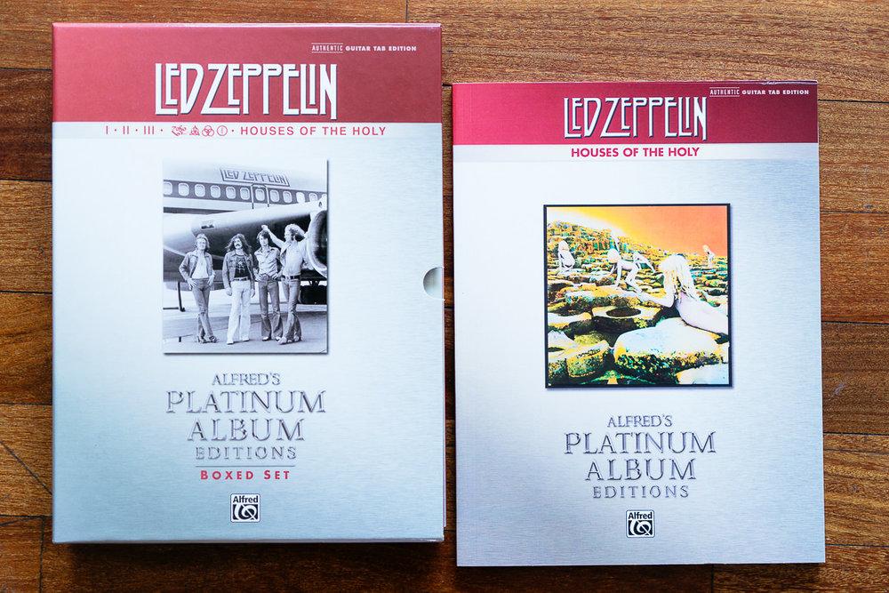 Led Zeppelin Platinum Album Songbook