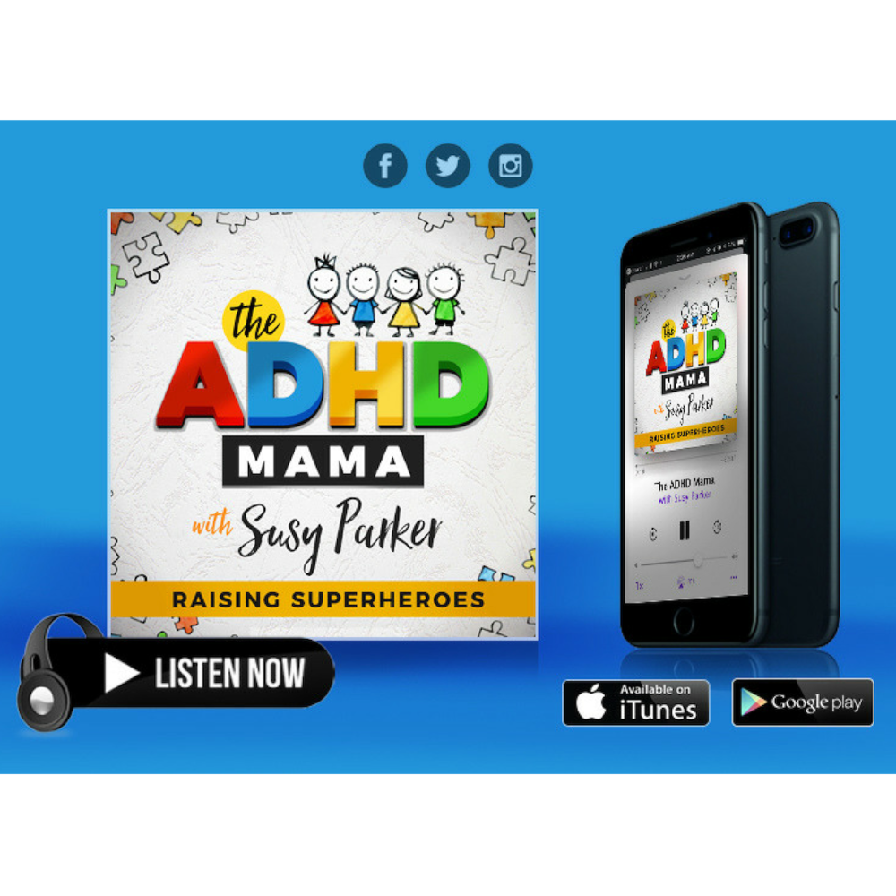 Listen To The Podcast - I've learned so much listening to The ADHD Mama Podcast. Susy's guests have so much knowledge and I'm now venturing along a completely different path - education is key. This journey can be so overwhelming, but this podcast is making it so much easier! Thank you so much Susy for being the voice for our kids!Gemma B