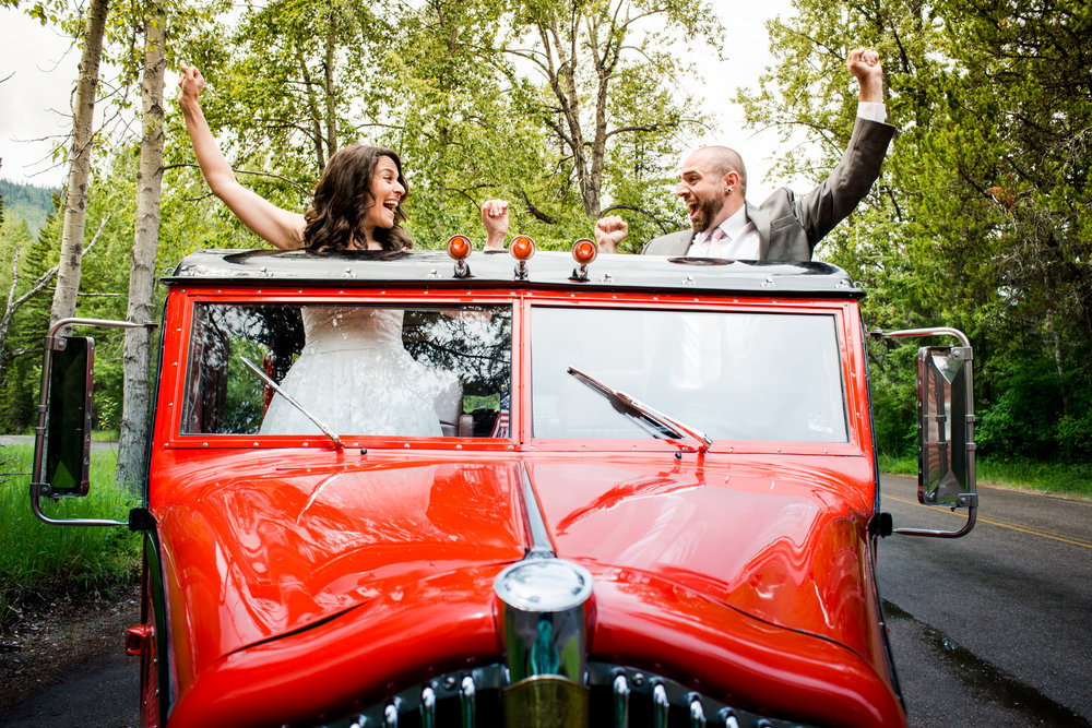 Cory & Lauren - Traditional Jewish wedding in Glacier National Park, Montana