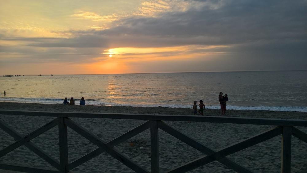 Sunset at Mancora