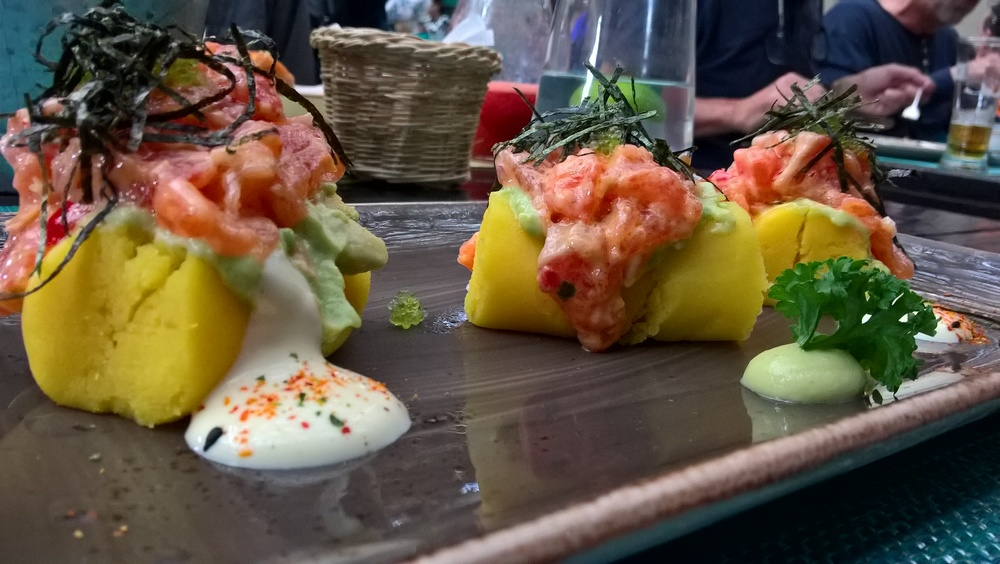 My fancy food at La Mar