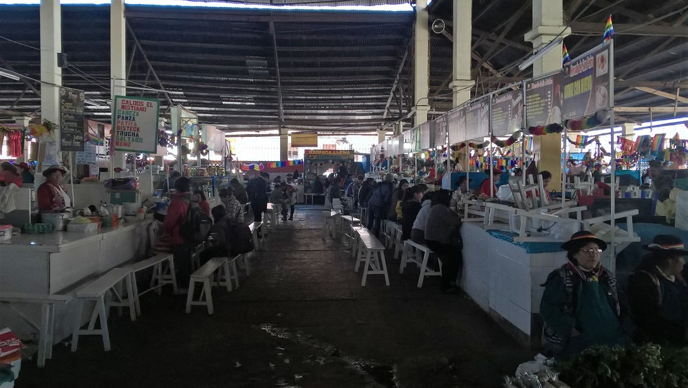 Sao Paolo Market in the morning