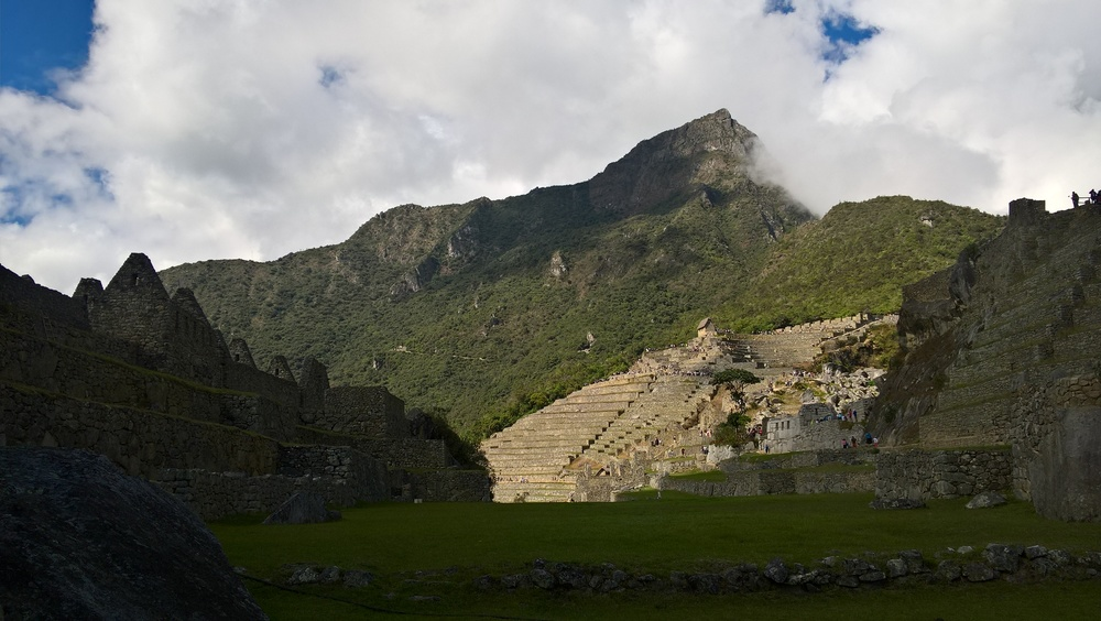 Machu Picchu from a less famous angle