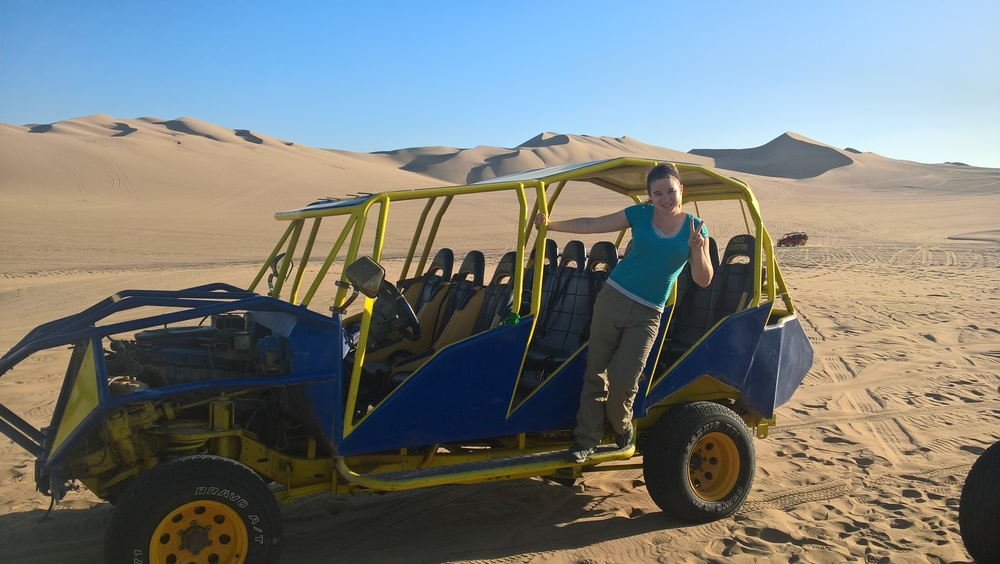 Our sand buggy