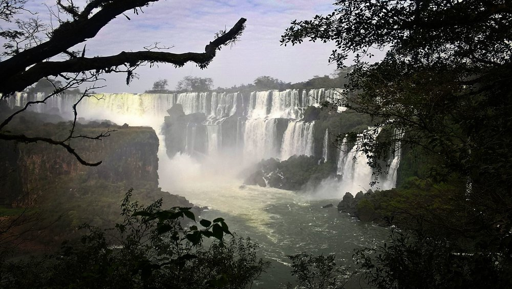 Small part of Iguazu falls.