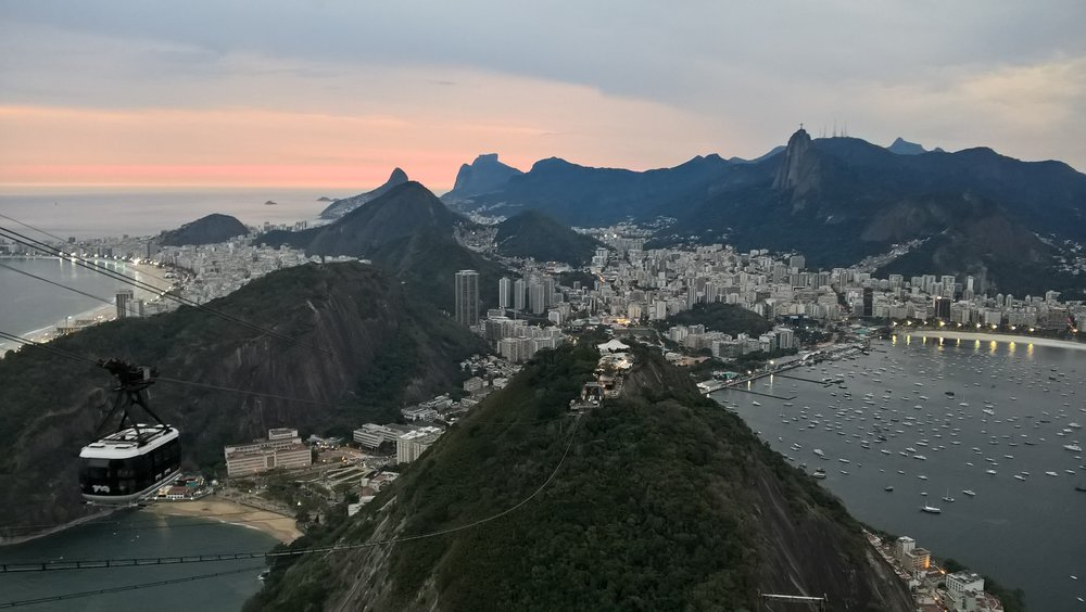 View of Rio from Sugarloaf Mountain