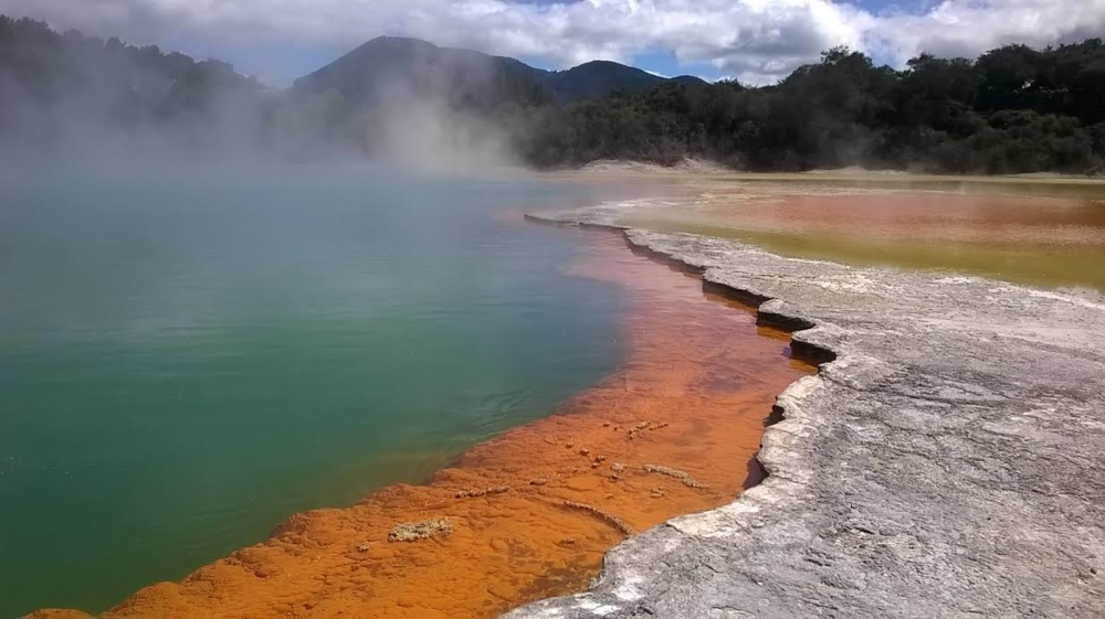 A section of the Wai-O-Tapu Thermal Park.