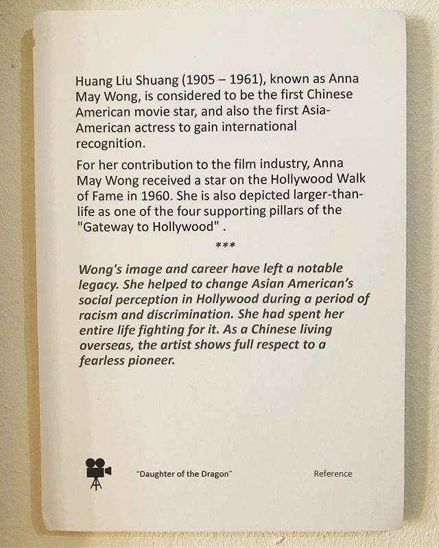 Anna May Wong, brief summary of such a movie star which Hollywood won't forget for what she has contributed towards anti- racist movement in early 20 century when Hollywood was dominated by the white. #annamaywong #黄柳霜 #hollywoodgetaway #fashionicon #vogue #paris #1930s