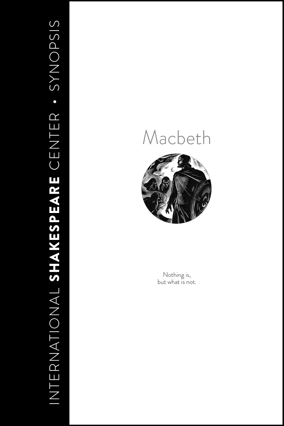 Macbeth • i Read Shakespeare • International Shakespeare Center Santa Fe • Robin Williams
