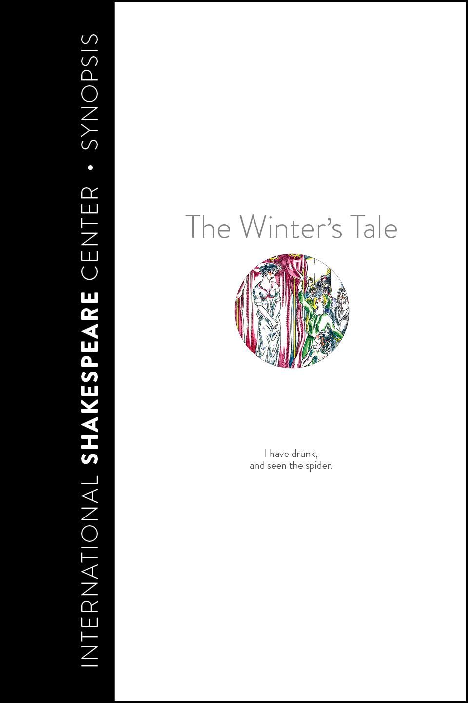 Winter's Tale • i Read Shakespeare • International Shakespeare Center Santa Fe • Robin Williams