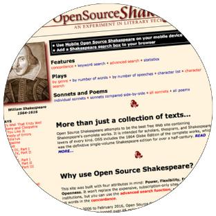 i Read Shakespeare • Robin Williams • International Shakespeare Center Santa Fe