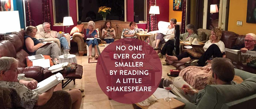 First Friday Club in Santa Fe • iReadShakespeare • International Shakespeare Center Santa Fe