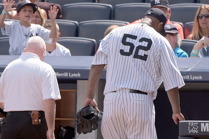 CC Sabathia future in doubt as Yankees fall out of 1st