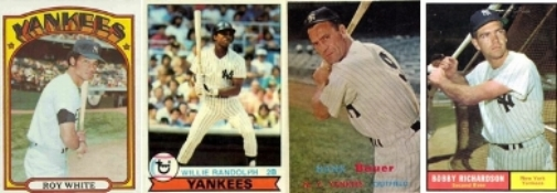 Some All-Time Yankees Leaders in Games Played