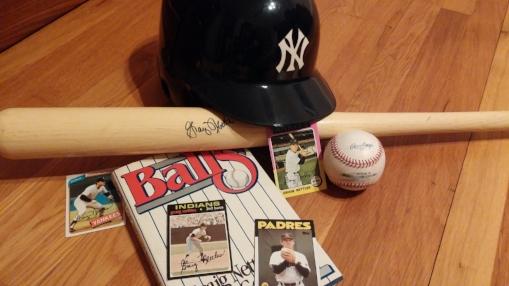 """The third baseman, number nine, Graig Nettles, number nine..."""