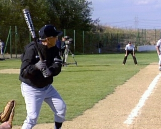Phil Rizzuto batting