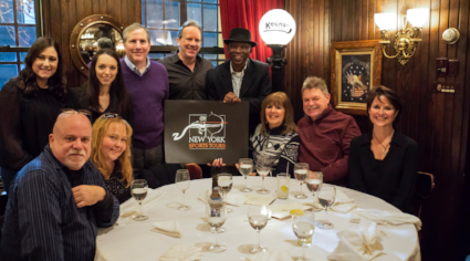 Mickey Rivers hosts New York Sports Tours Post-Tour Dinner at Keens
