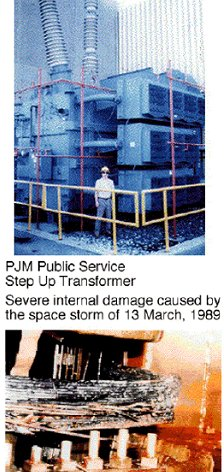 Power transformers damaged by the March 13, 1989, geomagnetic storm