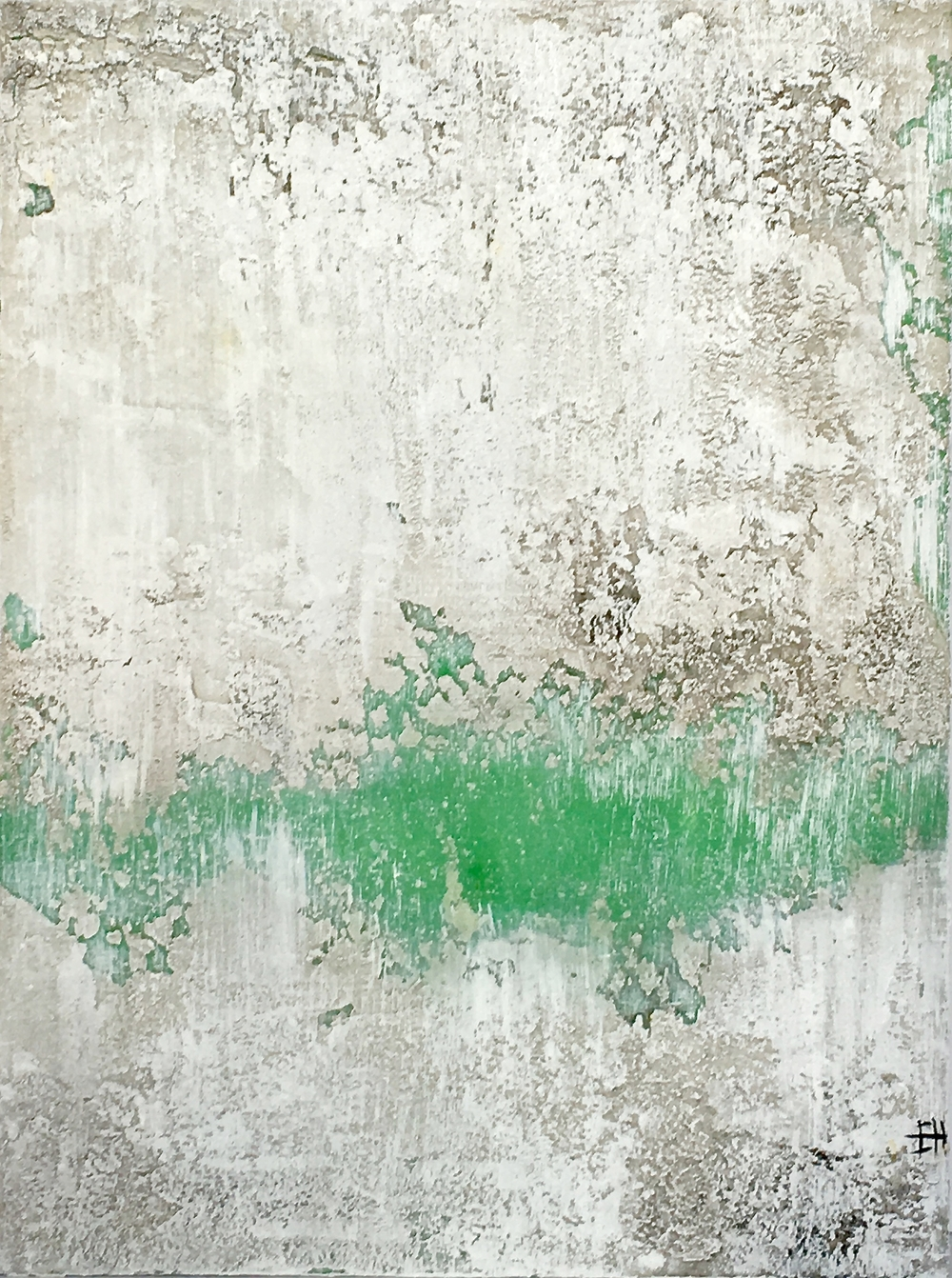 """Green Thumb (2) 12""""x16""""-SOLD"""