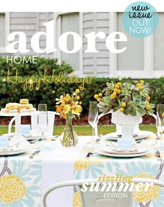 Porch Light Interiors featured in adore magazine